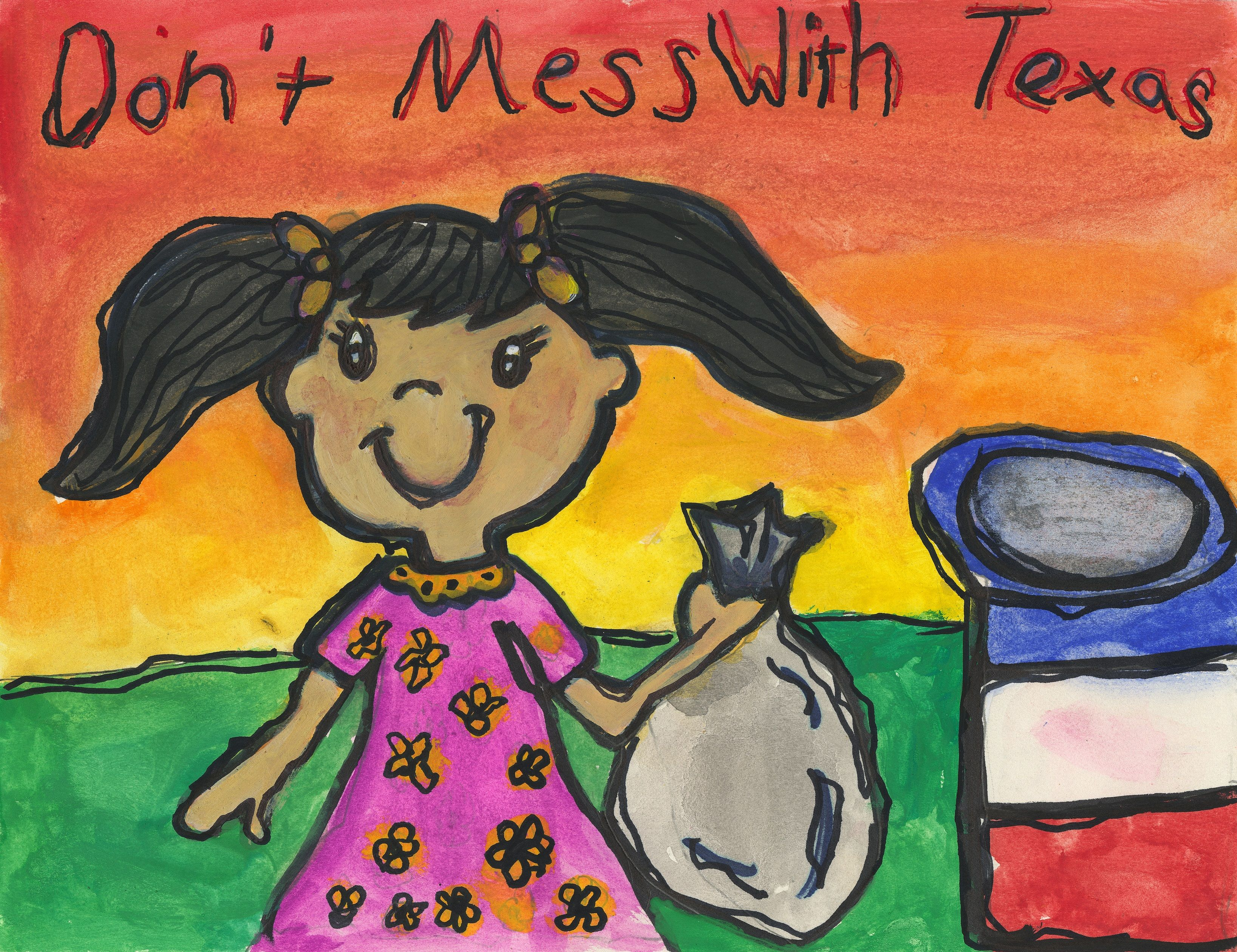 Don't mess with Texas® K-12 Art Contest | Youth | Programs