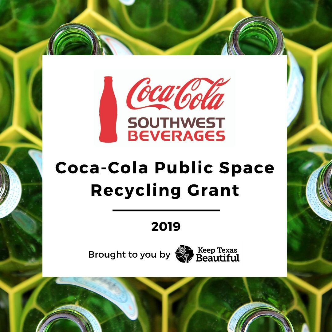 Coca-Cola Public Space Recycling Grant