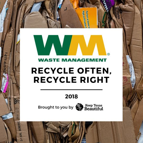 Waste Management Recycle Often, Recycle Right Grant
