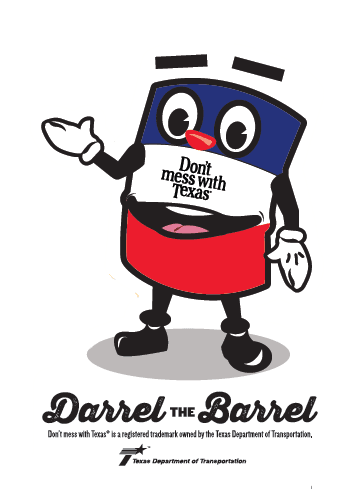 Don't mess with Texas® Darrel the Barrel Activity Book