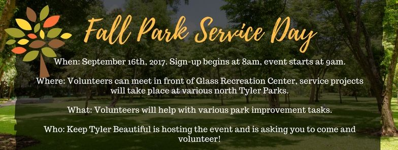 Tyler - Park Service Day-Cleanup