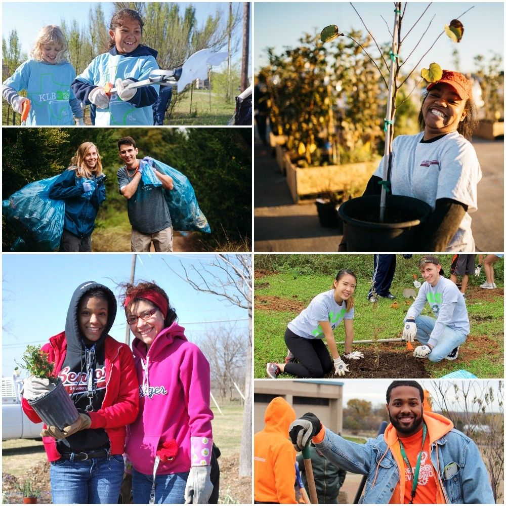 Individual volunteers working at various KTB and affiliate programs.