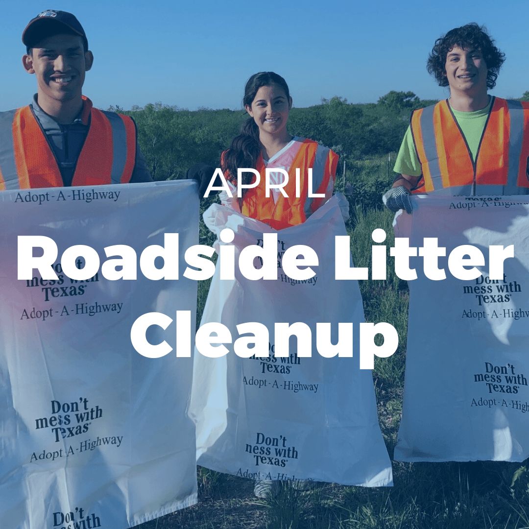 APRIL: Roadside Litter Cleanup