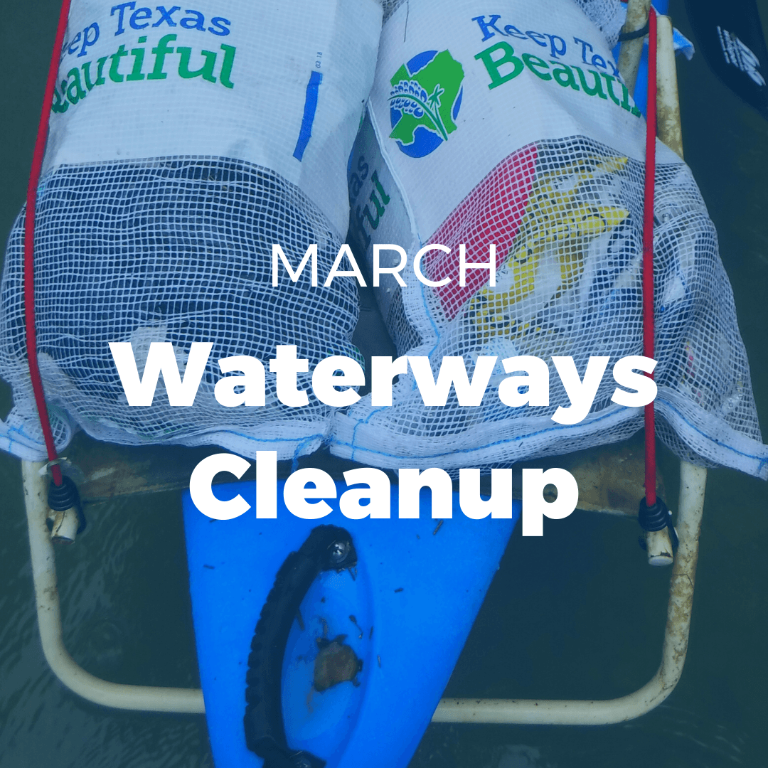 MARCH: Waterways Cleanup