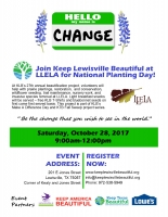 Lewisville - National Planting Day