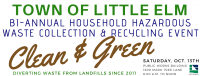 Little Elm Clean & Green Oct 13