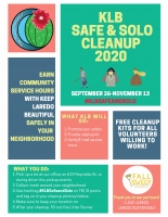 Keep Laredo Beautiful Safe & Solo Cleanup 2020