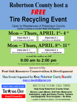 Robertson County Tire Collection